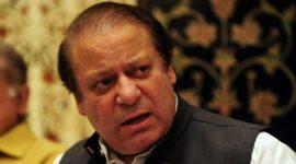 पाकिस्तानी प्रधानमन्त्री नवाज शरीफद्वारा राजीनामा